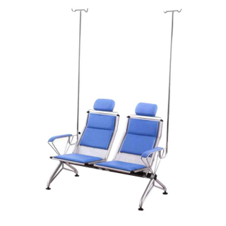 E-022 Stainless steel double infusion chair