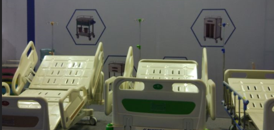 Henan caremore medical equipment hospital bed from CMEF