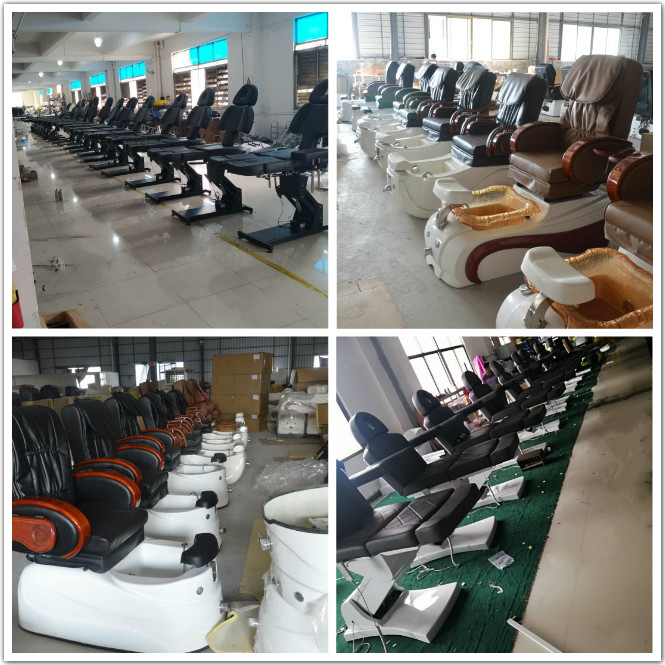 beauty bed production line 1
