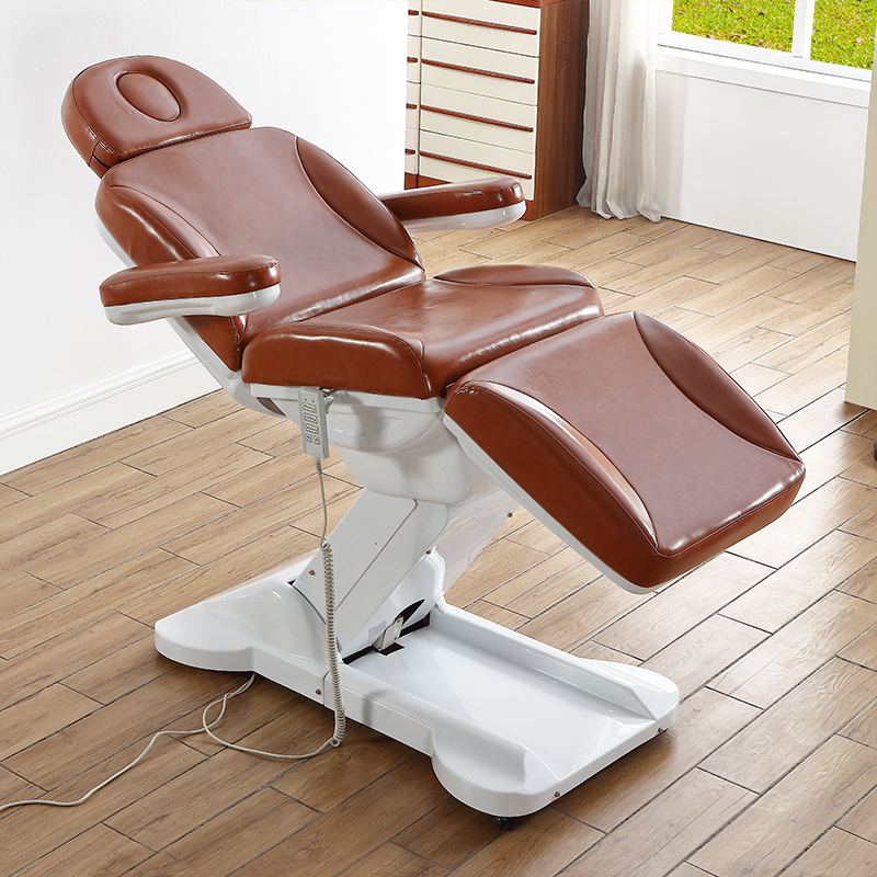 2018 hot sales 3 section folding manual control massage salon facial bed parlor beauty chair